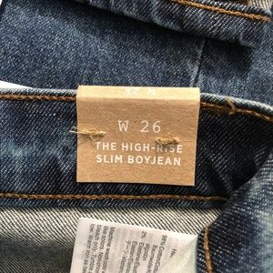 Madewell Jeans - NEW! MADEWELL Eco Collection High-Rise Slim Jean